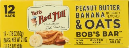 Bob's Red Mill® Bob's Peanut Butter Banana & Oats Better Bar Perspective: bottom