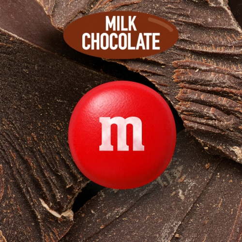 M&M's Milk Chocolate Candy Perspective: bottom
