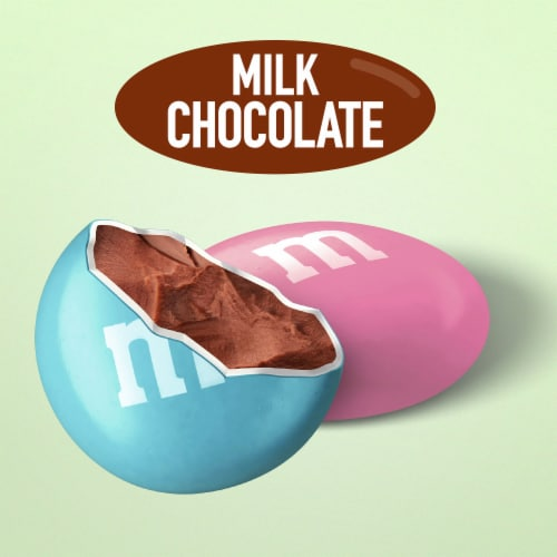 M&M'S Milk Chocolate Easter Candy Box Perspective: bottom