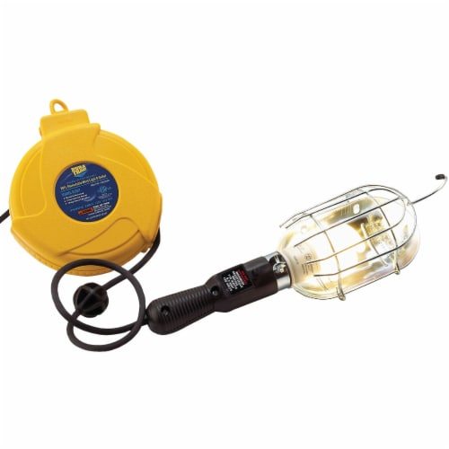 Alert Stamping 75W Incandescent Trouble Light with 20 Ft. Power Cord 920DT Perspective: bottom