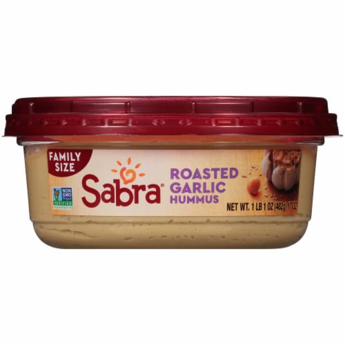 Sabra® Roasted Garlic Hummus Perspective: bottom