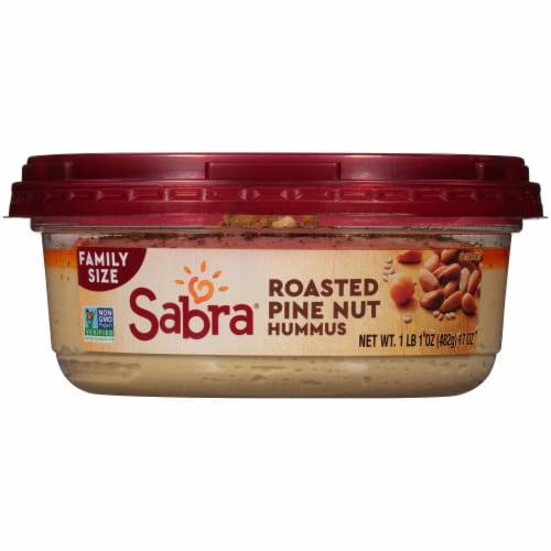 Sabra® Family Size Roasted Pine Nut Hummus Perspective: bottom