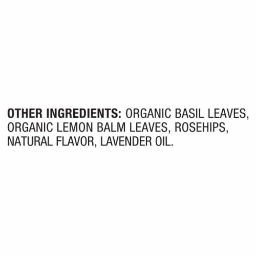 Lipton® Stress Therapy Cinnamon Chamomile & Lavender Caffeine Free Herbal Supplement Tea Bags Perspective: bottom