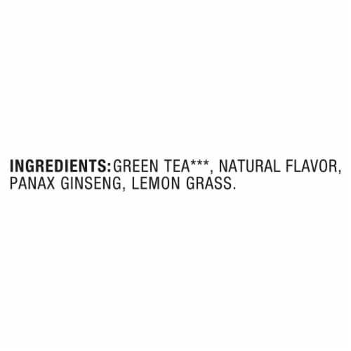 Lipton® Lemon Ginseng Green Tea Bags Perspective: bottom