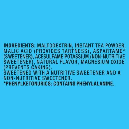 Lipton Raspberry Diet Iced Tea Mix Perspective: bottom