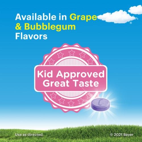 Children's Claritin Bubblegum 24 Hour Allergy Chewables Perspective: bottom