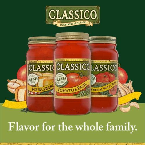 Classico Tomato and Basil Pasta Sauce Perspective: bottom