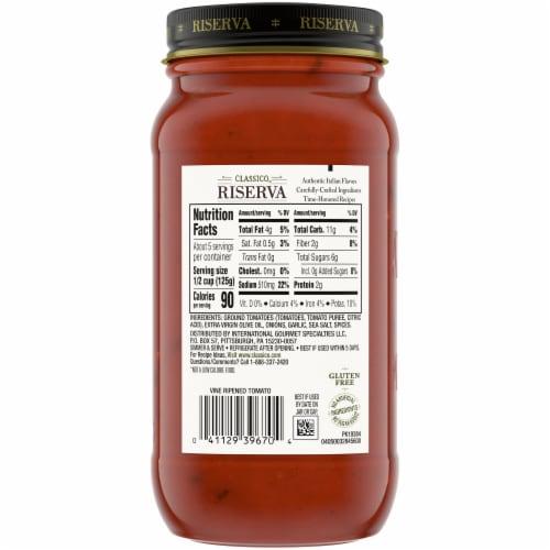 Classico Riserva Marinara Pasta Sauce Perspective: bottom