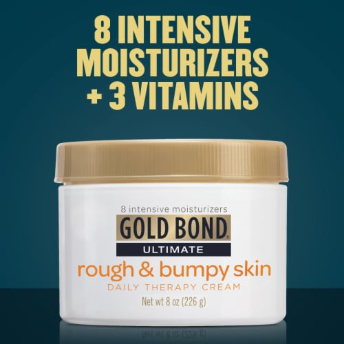 Gold Bond Ultimate Rough & Bumpy Skin Daily Therapy Cream Perspective: bottom