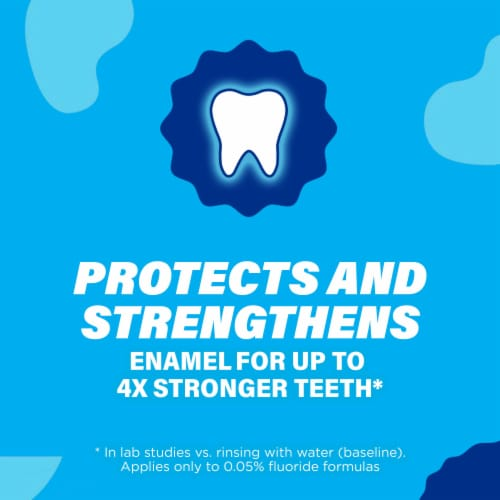 ACT Mint Burst Restoring Anticavity Fluoride Mouthwash Perspective: bottom