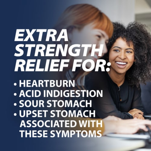 Rolaids® Extra Strength Antacid Mint Chewable Tablets Perspective: bottom