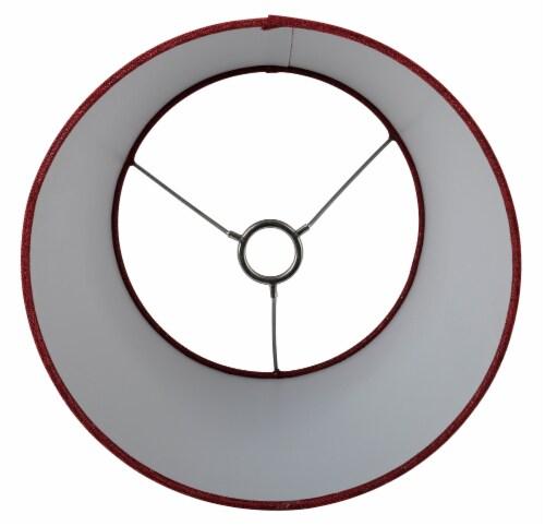 HD Designs® Medium Lamp Shade - Red Perspective: bottom