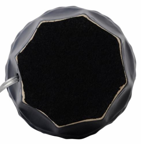 HD Designs® Large Ceramic Table Lamp Base - Dark Blue Perspective: bottom