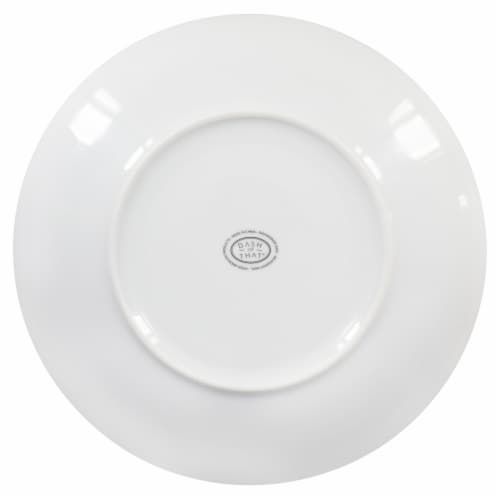 Dash of That™ Round Dinner Plate - White Perspective: bottom