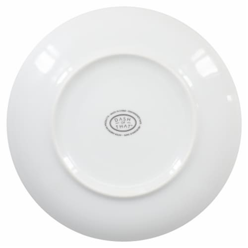 Dash of That™ Salad Plate - White Perspective: bottom