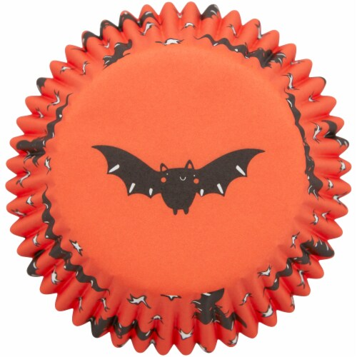 Holiday Home™ Cupcake Liners - Bat Perspective: bottom