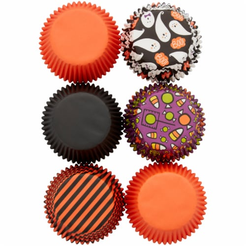 Holiday Home Halloween Bake Cup Tubes - Assorted Perspective: bottom