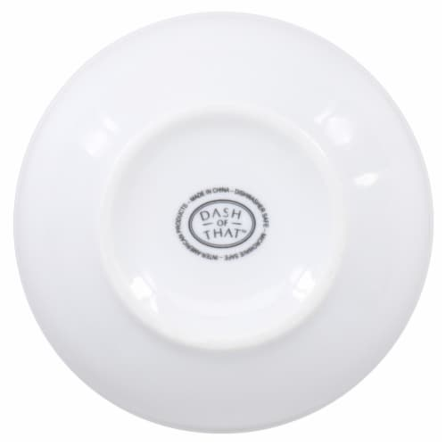 Dash of That Banded Bowl - White Perspective: bottom