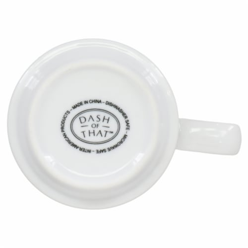 Dash of That™ Strato Stack Mug - White Perspective: bottom