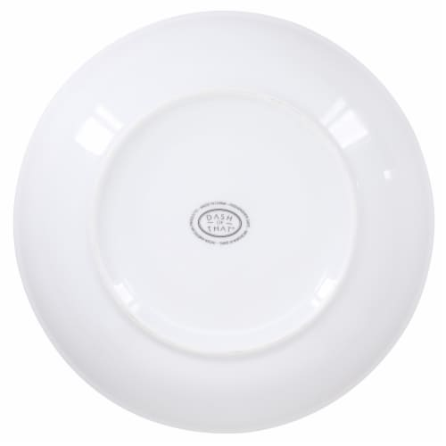 Dash of That™ Broadway Coupe Pasta Bowl - White Perspective: bottom
