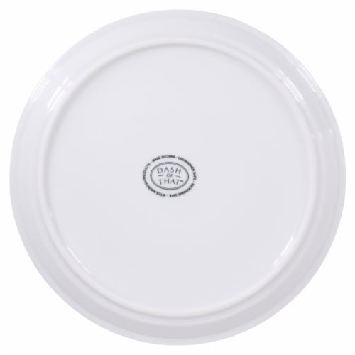 Dash of That™ Strato Stack Salad Plate - White Perspective: bottom