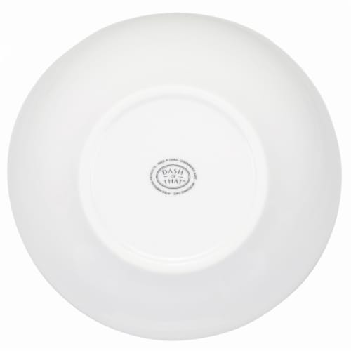 Dash of That™ St John Conical Bowl - White Perspective: bottom