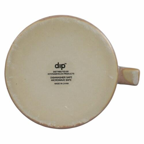 Dip™ Ceramic Mug - Gray Perspective: bottom