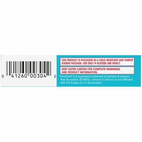 Kroger® Anti-Diarrheal Loperamide Softgels 2mg Perspective: bottom