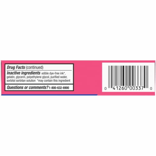 Kroger® Allergy Antihistamine Liquid Gels Perspective: bottom