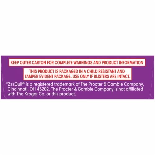 Kroger® EZ Nite Sleep Nighttime Sleep-Aid Softgels 25mg Perspective: bottom