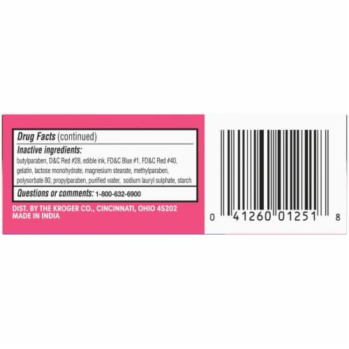 Kroger® Allergy Antihistamine Capsules Perspective: bottom