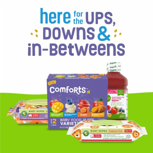 Comforts™ Size 6 Day or Night Diapers Perspective: bottom