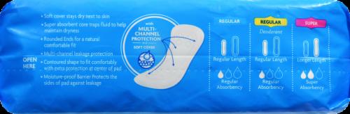 Kroger® Super Maxi Pads Perspective: bottom