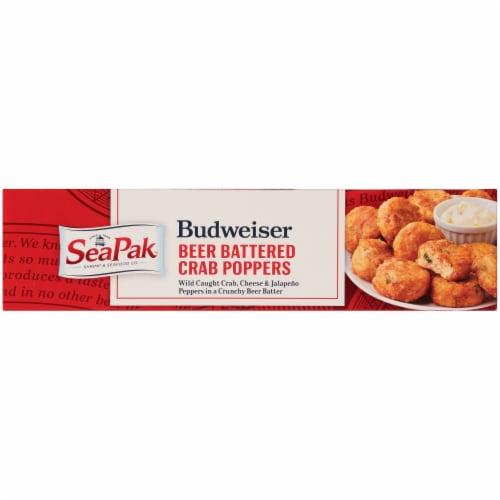 SeaPak Budweiser Beer Battered Crab Poppers Perspective: bottom