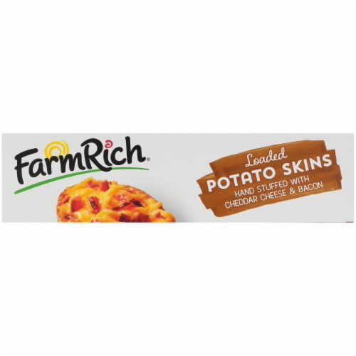 Farm Rich® Loaded Potato Skins Party Size Perspective: bottom