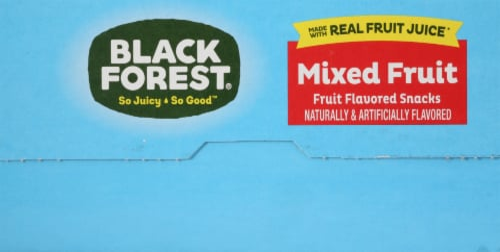 Black Forest® Juicy Burst Mixed Fruit Snacks Perspective: bottom