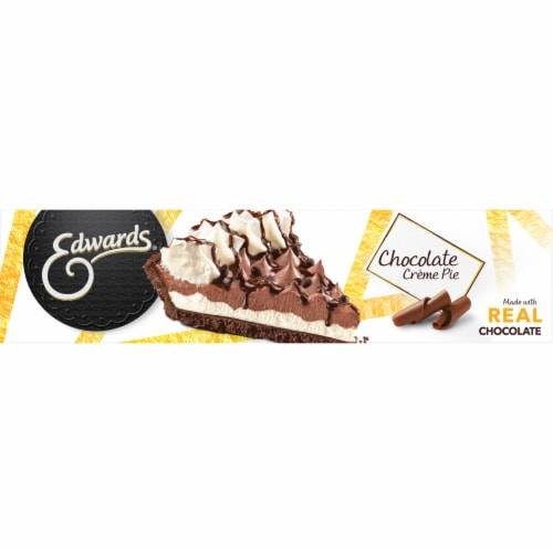 Edwards® Chocolate Creme Pie with Cookie Crust Perspective: bottom