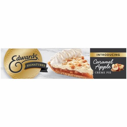Edwards® Signature Creme Desserts Caramel Apple Creme Pie Perspective: bottom
