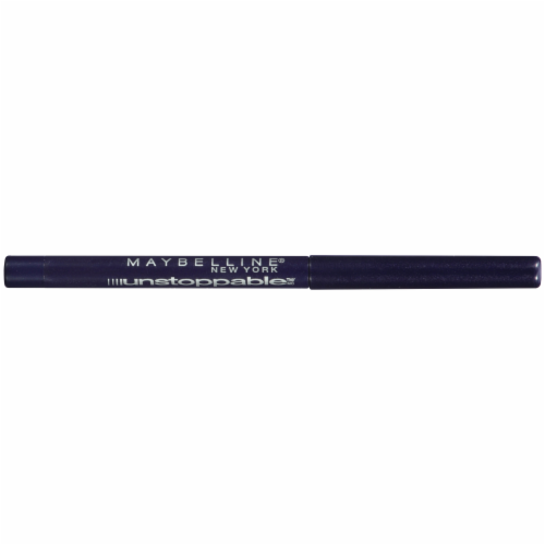 Maybelline Unstoppable Sapphire Eyeliner Perspective: bottom