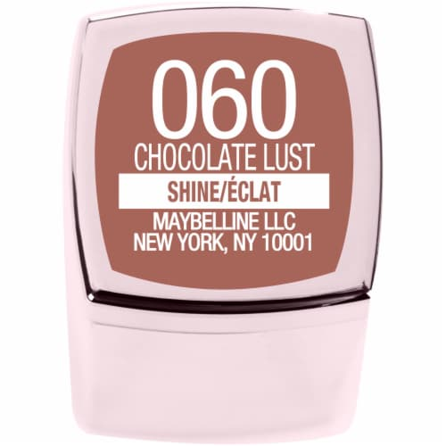 Maybelline Color Sensational Shine Compulsion Chocolate Lust Lipstick Perspective: bottom