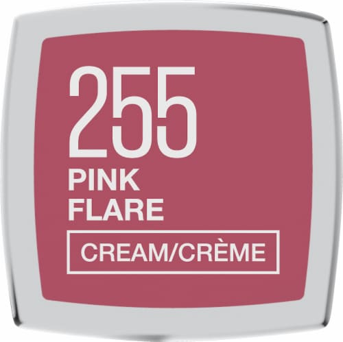Maybelline Color Sensational Pink Flare Cream Finish Lipstick Perspective: bottom