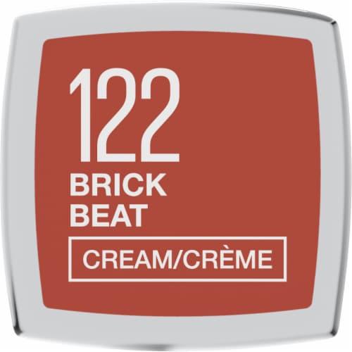 Maybelline Color Sensational Brick Beat Cream Finish Lipstick Perspective: bottom