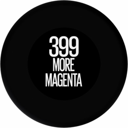 Maybelline Color Sensational Ultimatte More Magenta Lipstick Perspective: bottom