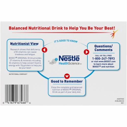 Boost® Original Very Vanilla Balanced Nutritional Drinks Perspective: bottom