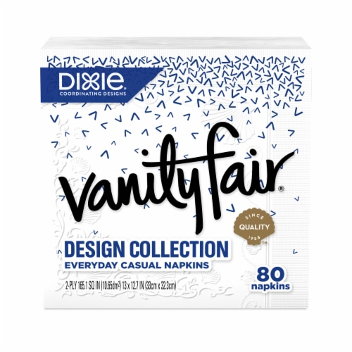 Vanity Fair Design Collection Everyday Casual Napkins Perspective: bottom