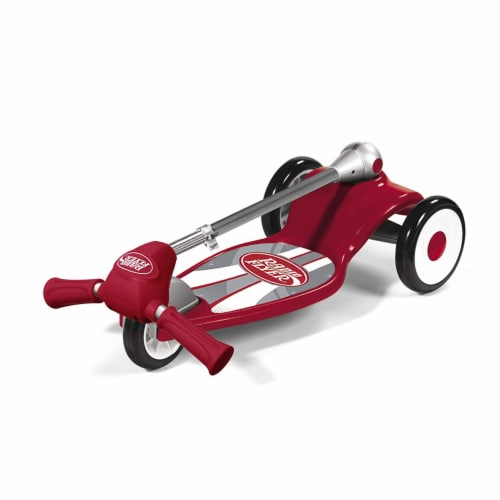 Radio Flyer My 1st Scooter Sport Model with 3 Wheel Design for Ages 2 to 5, Red Perspective: bottom