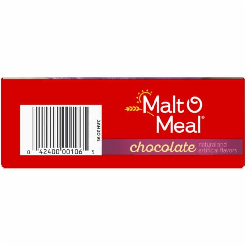 Malt-O-Meal Chocolate Hot Wheat Cereal Perspective: bottom