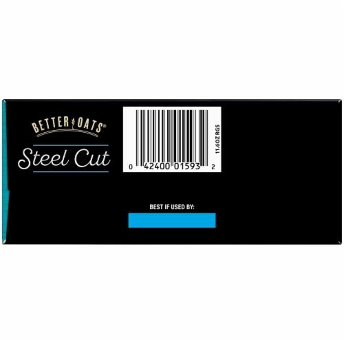 Better Oats Steel Cut Original Instant Oatmeal Perspective: bottom