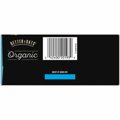 Better Oats Organic Bare Instant Multigrain Hot Cereal 8 Count Perspective: bottom