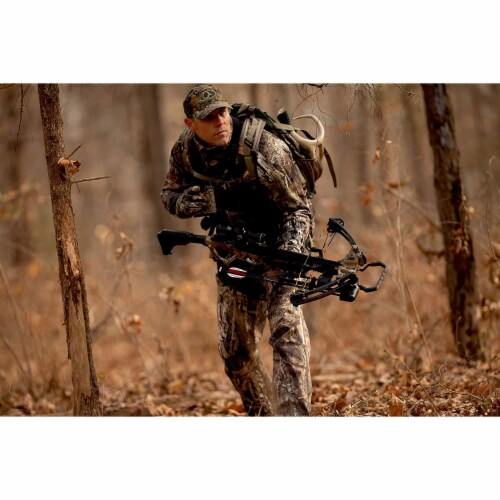 Barnett Explorer Series XP400 Hunting Compound Crossbow with Scope, Strike Camo Perspective: bottom